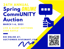 Spring Community Auction ONLINE