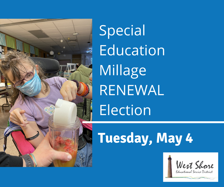 West Shore ESD Special Education Millage Renewal Election Information