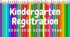 2020-2021 Kindergarten Registration Information