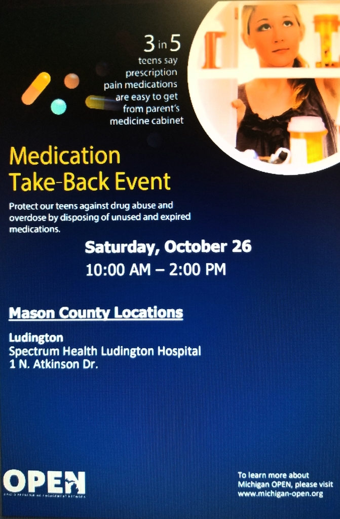 Med Take Back Flyer